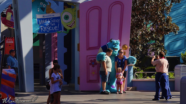 Disney California Adventure, Monsters Inc. Mike and Sully to the Rescue, Monsters U
