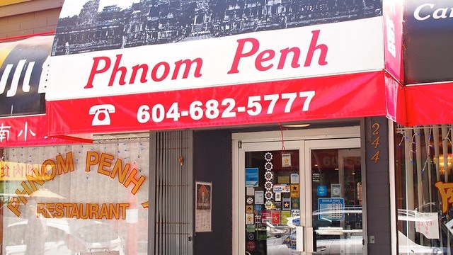 Phnom Penh Restaurant Vancouver Reopen March