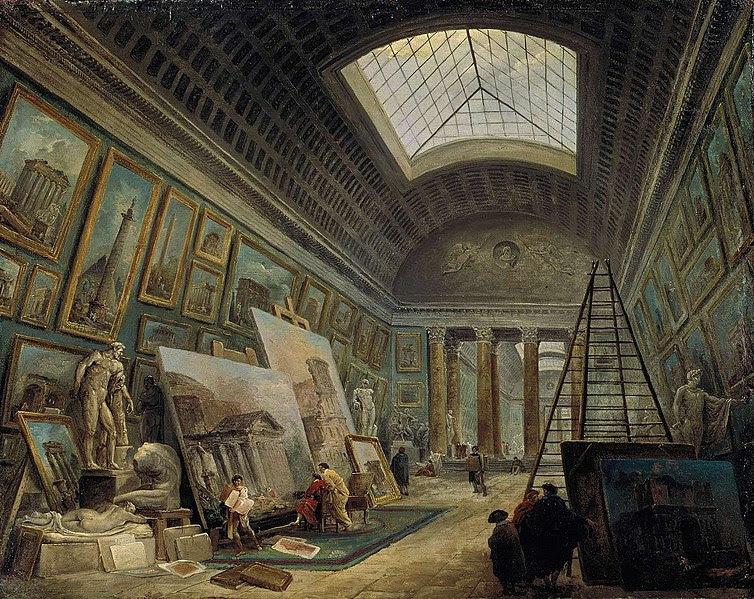 File:Hubert Robert, Une galerie du Musée.jpg