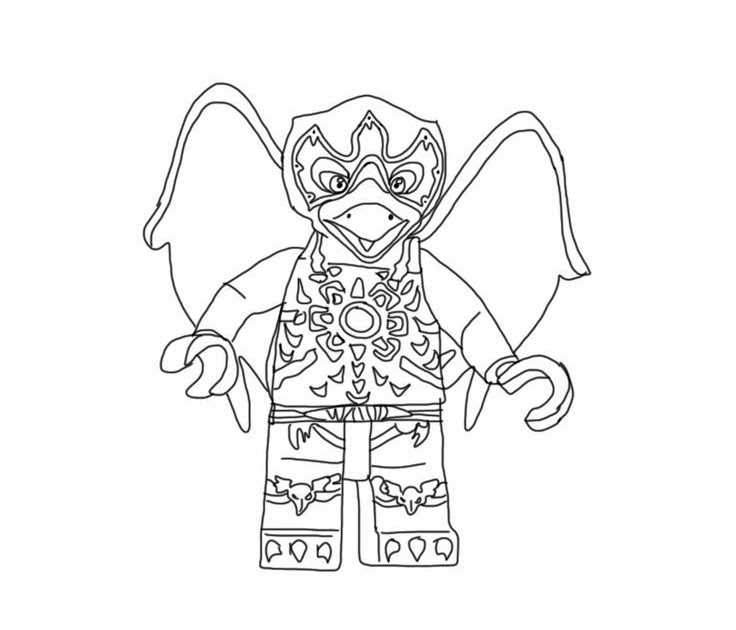 free printable lego chima coloring pages - coloring pages