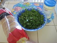 Ingredients for con Mayonesa