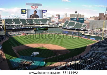target field seating view. target field seating view.