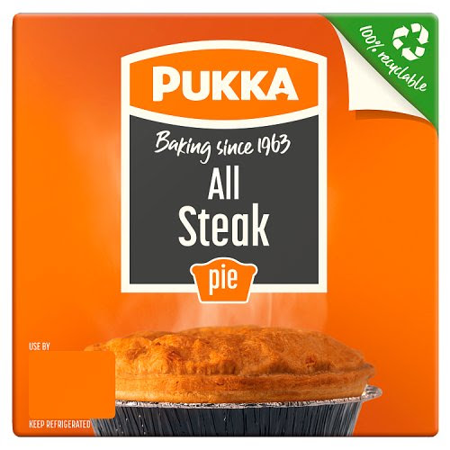Pukka Pies All Steak - Pies and Pasties