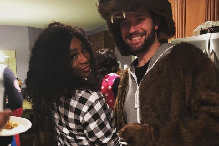 Image result for Serena Williams announces engagement to Reddit co-founder