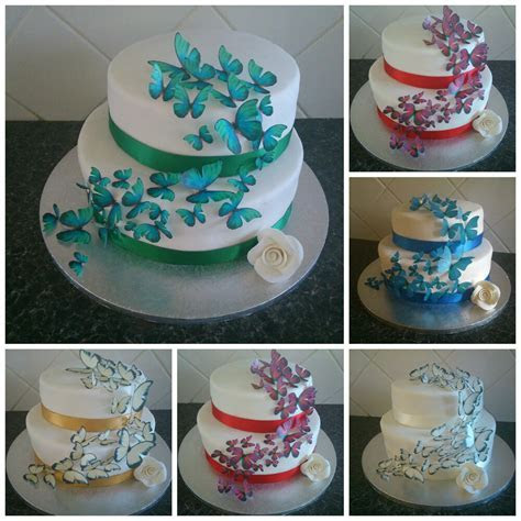 Wedding Cake Toppers Edible Butterfly Decorations MULTIPLE