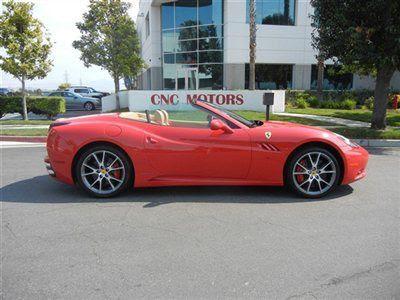Buy new 2010 Ferrari California Rosso Corsa MSRP $248,211 ...