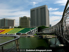 Helix Bridge and Floating Platform