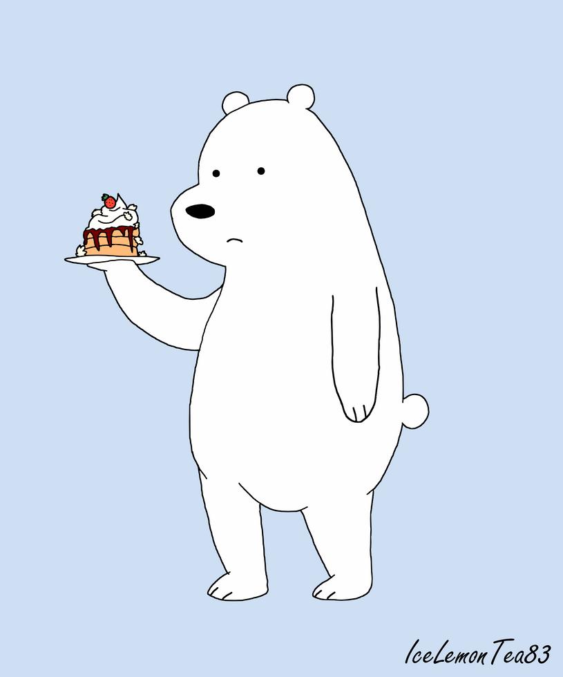 We Bare Bears  Ice Bear by IceLemonTea83 on DeviantArt