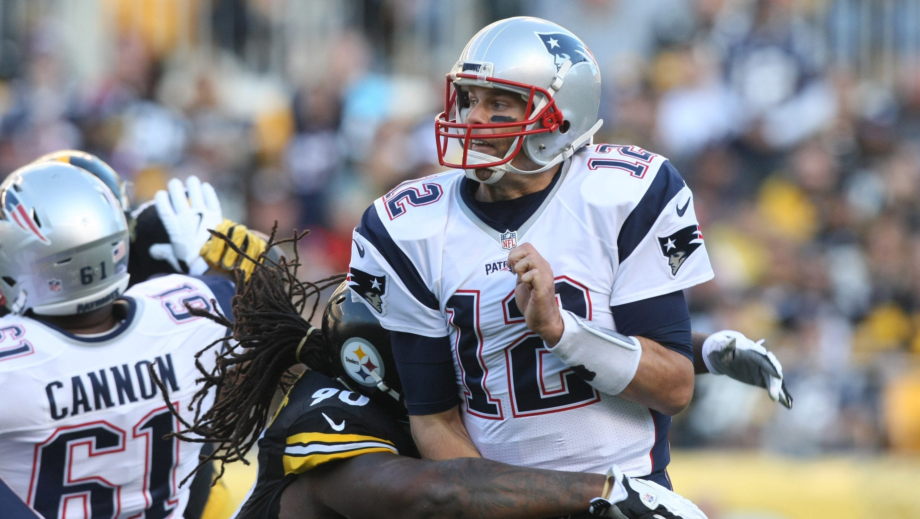 Patriots must protect Tom Brady from Steelers peaking pass rush