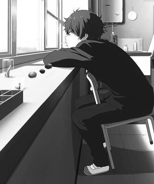 Aesthetic Anime Boy Pfp Black And White | Anime Wallpaper ...