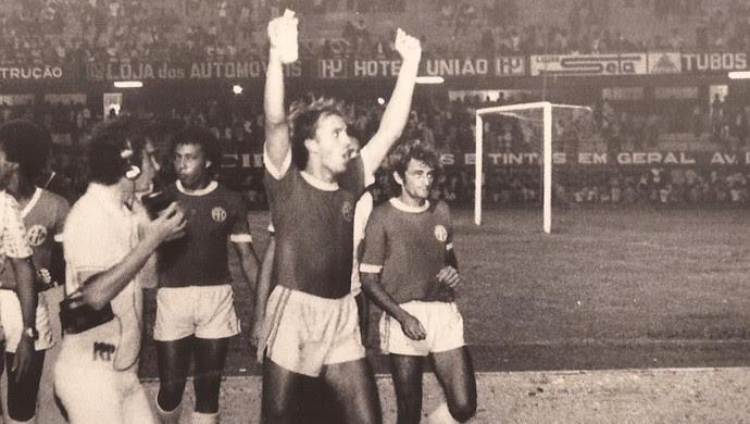 Aluísio Guerreiro Moraes - técnico do América-RN - campeão potiguar 1977 (Foto: Arquivo Pessoal/Ribamar Cavalcante)