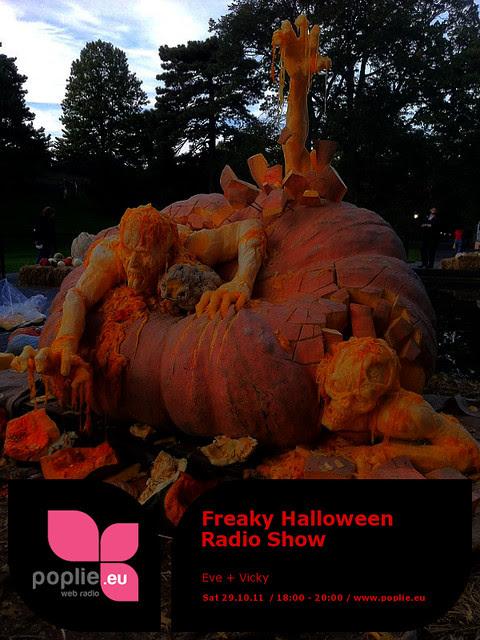 Eve+Vicky Freaky Halloween Radio Show Poster 2