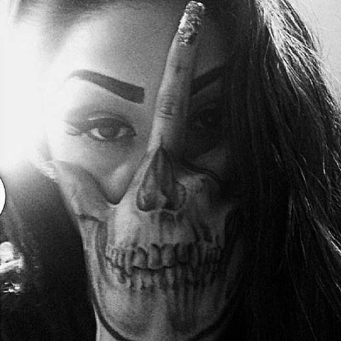 Δημιουργικά τατουάζ που αλληλεπιδρούν με το σώμα! (16)