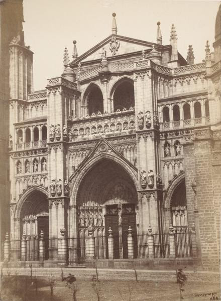 Catedral de Toledo en 1859. Fotografía de Charles Clifford. © Victoria and Albert Museum, London