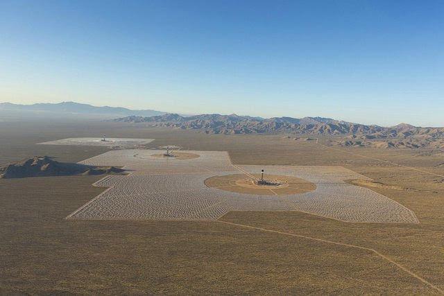 la granja de energía solar mas grande del mundo