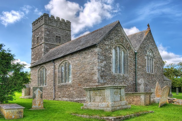 St Michael's, Caerhays, Cornwall