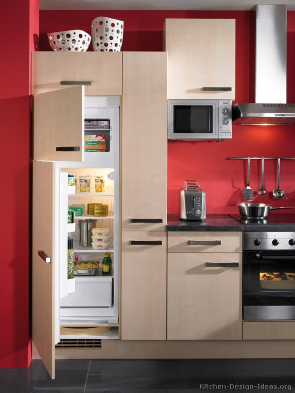 Red Kitchen Floor Tiles | Modern Diy Art Designs