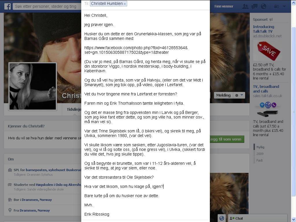 christell facebook