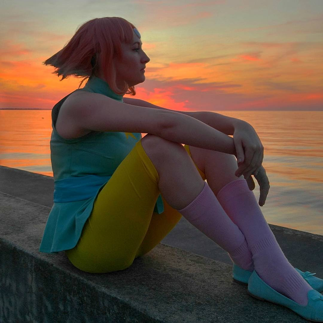 Here are more pics of the lovely @andilion5356 as Pearl from Steven Universe!