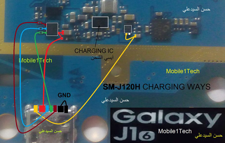 Samsung Galaxy J1 2016 Usb Charging Problem Solution Jumper Ways