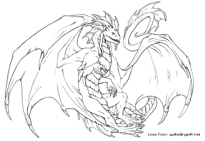 157 Dibujos De Dragones Para Colorear Oh Kids Page 6