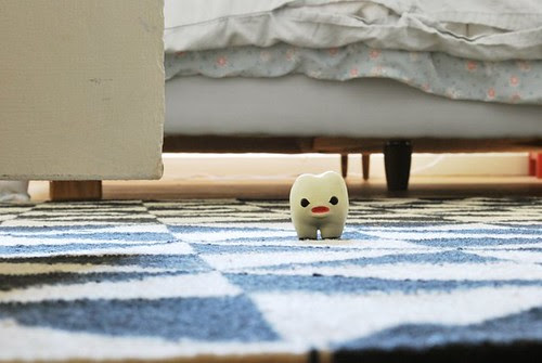 """Good morning, morning! Good morning, floor! Good morning, lint!"""