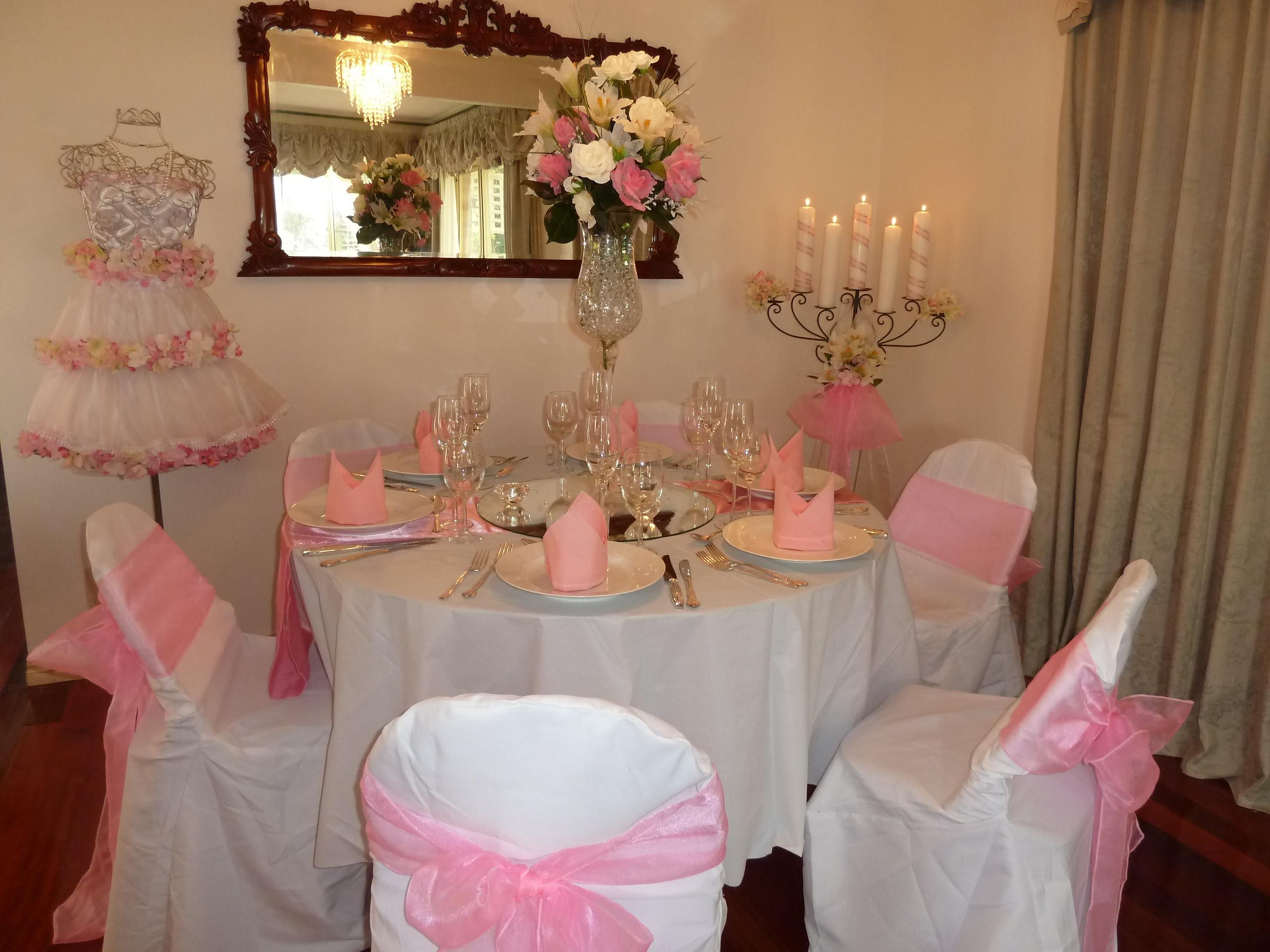 Christening Decorations Dining Room Design