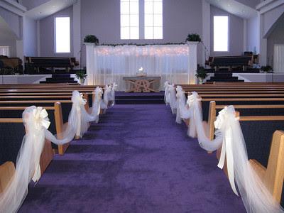 Center Ideas Church Decorations Outdoor Wedding World