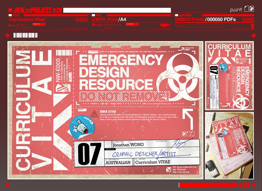 Resumedesign19b in Remarkable Résumé Designs