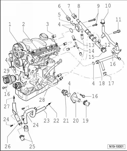 Wiring Diagram  31 Volkswagen Golf Parts Diagram