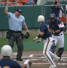 Umpire out