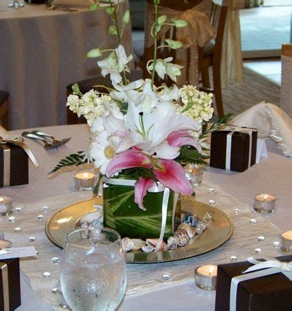 Easy Do It Yourself Centerpiece for Wedding or Quinceanera