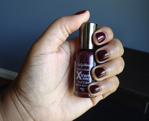 Sally Hansen Xtreme Wear 12 Flirt swatch