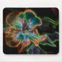 Hibiscus Digital Art Flower Photo Mousepad mousepad