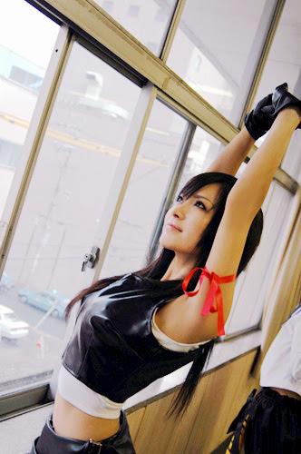 Tifa Cosplayer 3