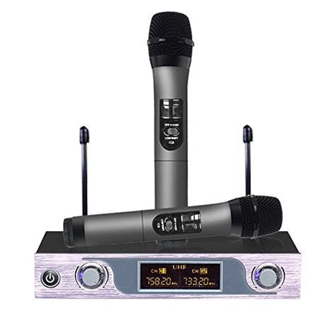 Best and Coolest 24 Handheld Wireless Microphones   Top