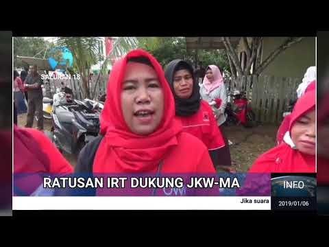 Ratusan IRT Dukung Jokowi
