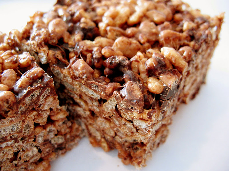 Chocolate Rice Krispie Squares   Tasty Kitchen: A Happy ...