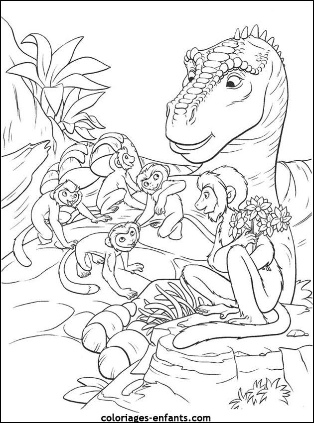 204 Dessins De Coloriage Dinosaure à Imprimer Sur Laguerchecom