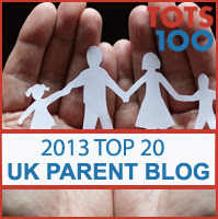 Top 20 UK Parent Blogs 2013