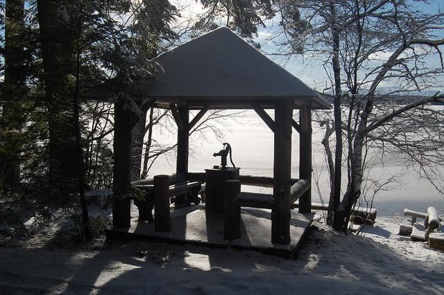 Adirondack pump house
