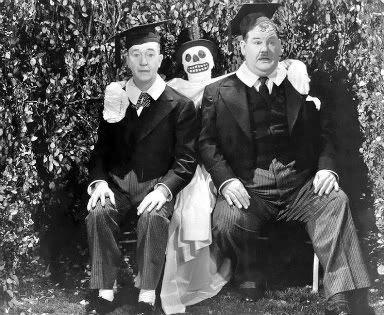 Stan Laurel Oliver Hardy ghost
