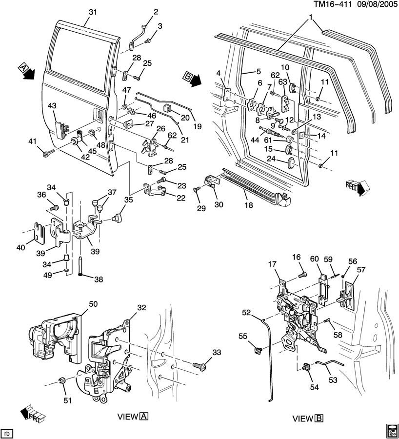 Gmc Safari Parts Diagram Wiring Diagrams All Side Entry A Side Entry A Babelweb It