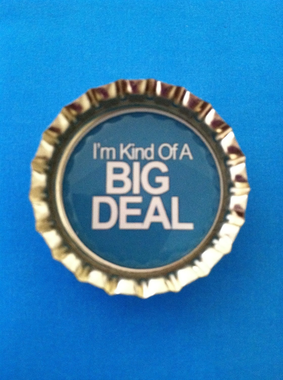 Funny I'm Kind of a Big Deal COLORED Magnet - home decor magnet