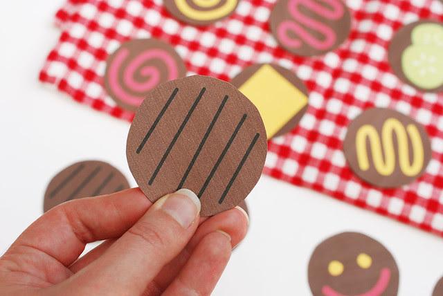 Printable Burger Memory Game