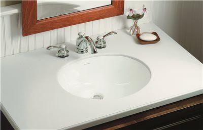 Wescott Bathroom Sink Undermount 17 Inch X 13 Inch White Jrm Supplies