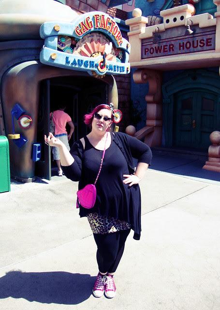 Disneyland Day 2: *Gag*