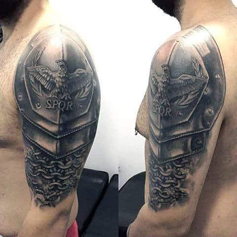 Ponas Sija Slydimo Batai Roman Legion Tattoo I Hakuei Com