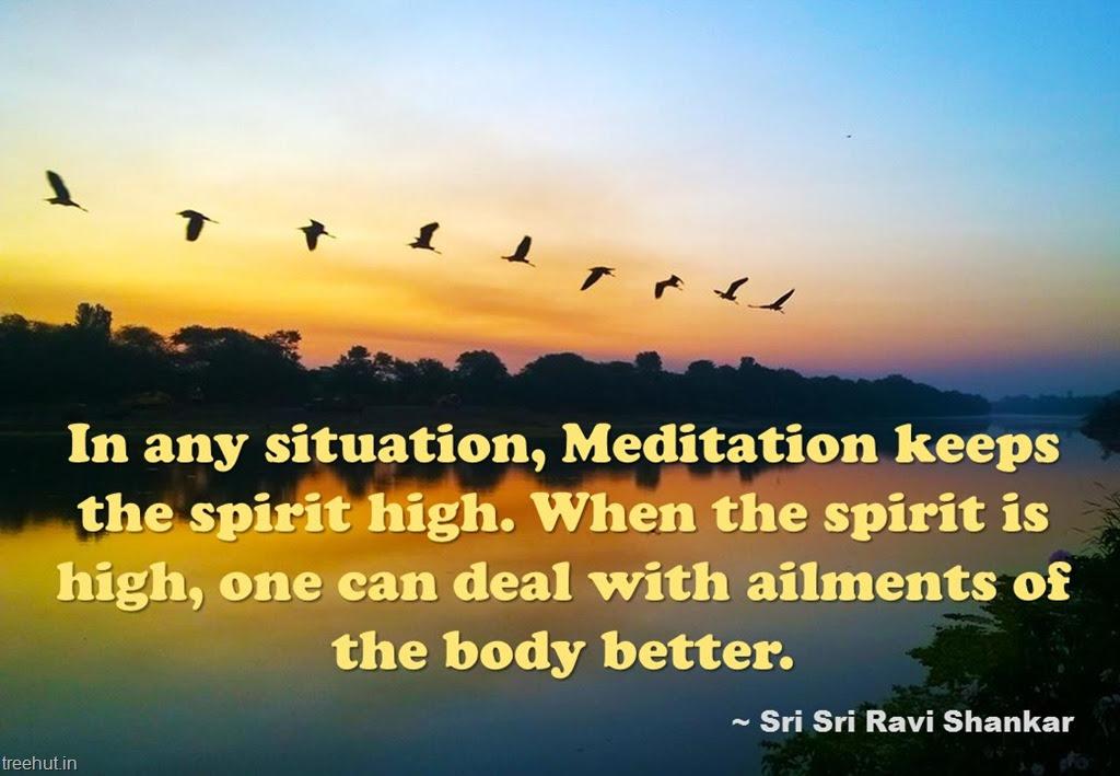 Meditation Quote Wallpapers By Sri Sri Ravi Shankar