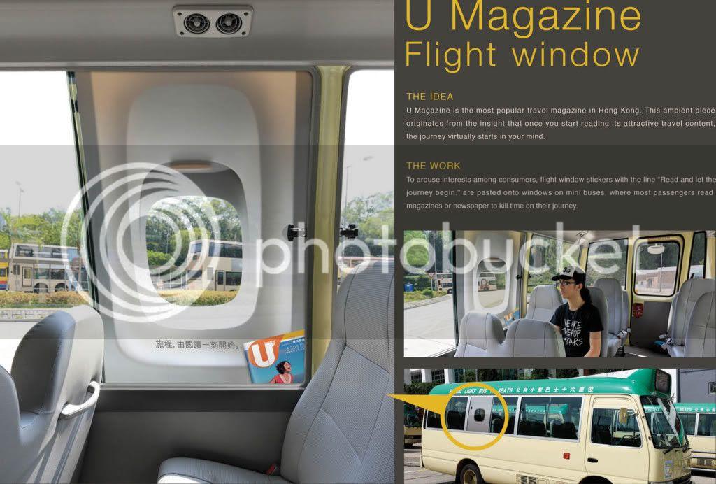 U Magazine's Flight Window